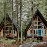 Hello Alaska! A familiar image linked to Alaskan accommodations is a log cabin more rustic than haute. Say hello to these cute, design-oriented cabins and cottages that flip this stereotype on its head, in favor of materials such as steel, glass and wood—paired with clean, minimalist lines, of course.